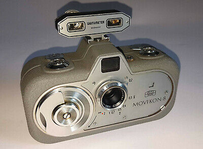 Zeiss Ikon Movikon 8 movie camera WATAMETER Super W TESTED