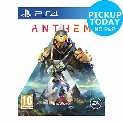 Anthem Sony Playstation PS4 Game 16+ Years