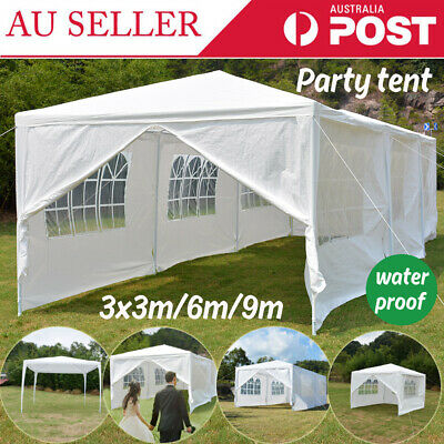 Party Wedding Marquee Event Tent Shade Canopy Camping Awning 3X6M 3x9m 3x3m