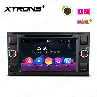 Android 8.1 Car DVD Radio Stereo GPS  Head Unit For Ford Galaxy Transit Connect