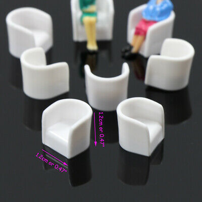 ZY11050 24pcs Model Train Leisure Ball Chair Settee Bench Scenery 1:50 O Scale