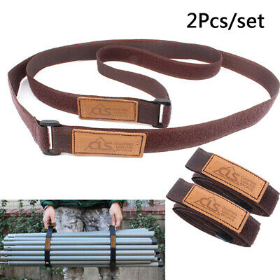 2X Durable Travel Luggage Strap Suitcase Baggage Belt Tie Outdoor Camping-HikiUP