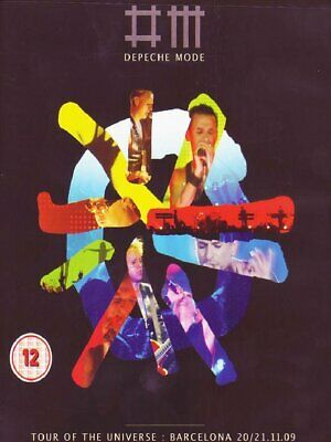 Dvd Depeche Mode - Tour Of The Universe - Live In Barcelona (2 Dvd+2 Cd)