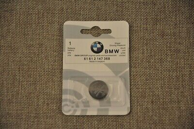 Genuine Bmw Car Key Fob / Remote Battery