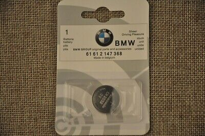 Bmw Car Key Fob / Remote Replacement Battery- Genuine
