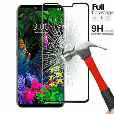 For LG G8s ThinQ - Case Friendly Full Cover Tempered Glass Screen Protector