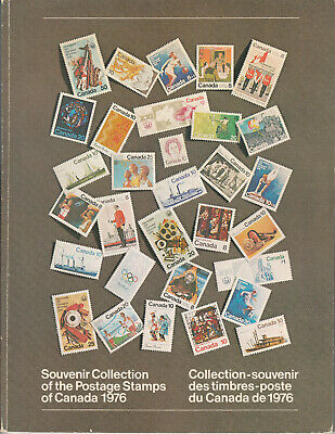 "# Canada Scott #19 Souvenir Book of 1976  ""Annual Collections"""