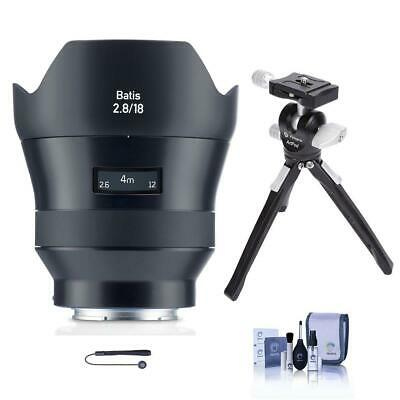 Zeiss 18mm f/2.8 Batis Series Lens for Sony FF E-mount NEX Cameras W/Mini Tripod