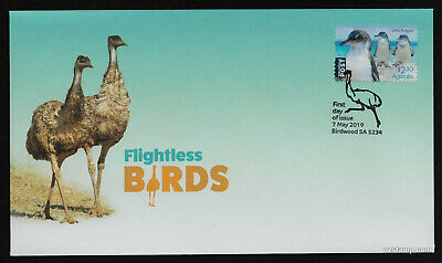 2019 Flightless Birds Little Penguin S/A *Unissued* FDC Stamps Australia