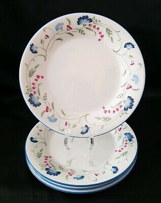4 Royal Doulton Expressions Windermere Side Plates Excellent Condition