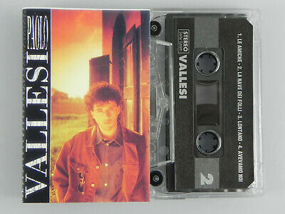 Vallesi Paolo MC Musicassetta TAPE Music MUSICA ITALIANA Made in Italy