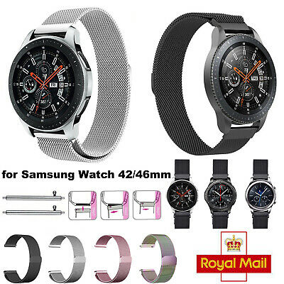 For Samsung Galaxy Watch 42/46mm Strap Replacement Milanese Band Stainless Steel