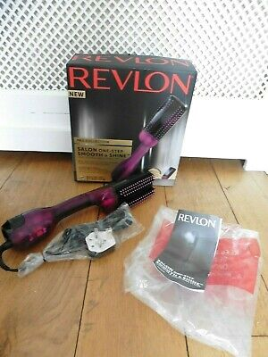 Revlon Pro Collection Salon One Step Smooth & Shine Hair Dryer Styler. NEW