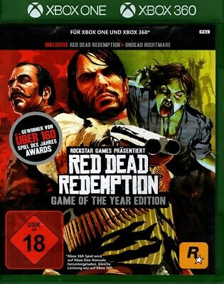 Red Dead Redemption - Game of the Year Edition - 2 Disc / Xbox One / Xbox 360