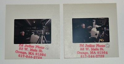 ANDY WARHOL COLLECTION 2 ORIGINAL SLIDES authentic photographs c1986 SCARCE