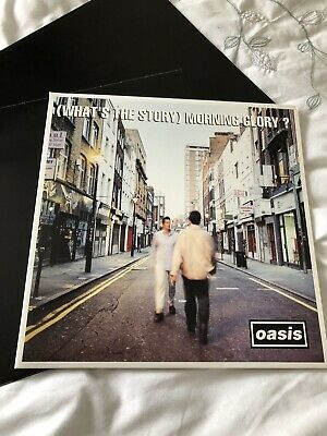 Oasis Original Whats The Story Morning Glory 1st Press NR MINT