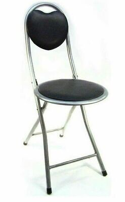 Childrens Junior Folding Chair High Bar Breakfast Kitchen Home Party Stool Seat