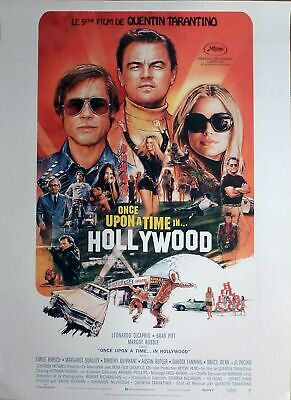 """Affiche pliée 120x160 cm """"Once Upon A Time In Hollywood"""" - TARANTINO"""