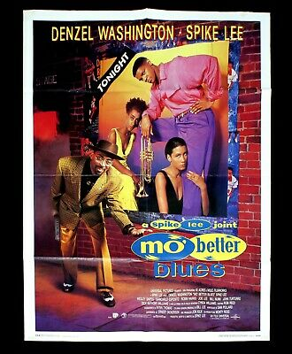MO' BETTER BLUES manifesto poster Spike Lee Denzel Washington Tromba Trumpet D7
