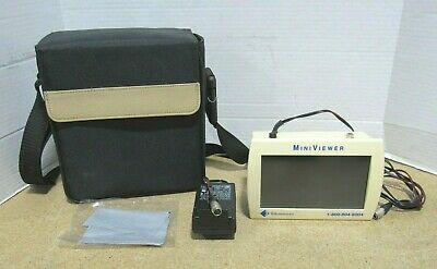 Telesensory Magnification MiniViewer W/ Power Supply & Case Tested & Working