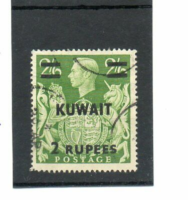 SG 72 KUWAIT 2R ON 2/6d USED