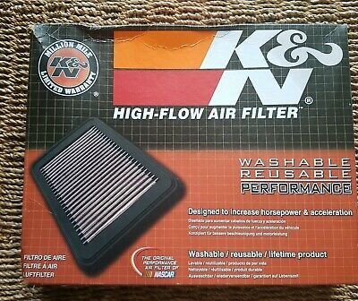 K&N 33-3031 High Flow Left Side Airbox Air Filter for Audi RS5 4.2 V8 2010-2015