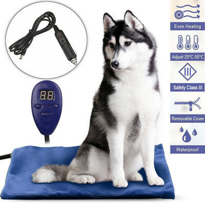 Waterproof Electric Heated Bed Cover Heat Pad Heater Mat For Pet Dog Puppy