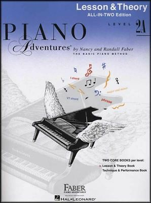 Piano Adventures Lesson & Theory Level 2A Nancy & Randall Faber Music Book