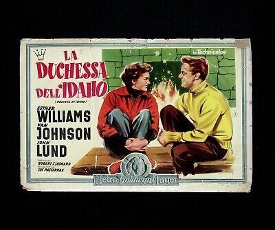 LA DUCHESSA DELL'IDAHO fotobusta poster Esther Williams Van Johnson Duchess H20
