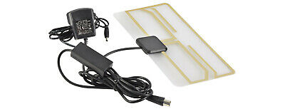 Mercury ST25A Amplified Digital TV Aerial Paper Thin Compact Active Powered Car