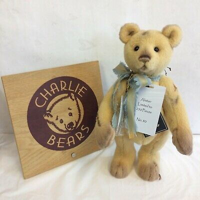 Charlie Bears Alistair Isabelle Bear - BNWT - OFFICIAL STOCKIST