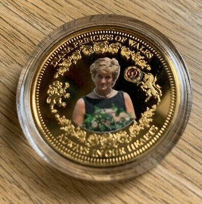 Diana Princess Of Wales 'Distinguished Patron' Commerative Coin