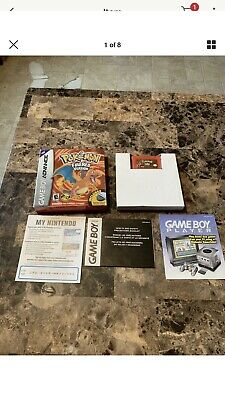 Pokemon Fire Red AUTHENTIC In Box Missing Adapter
