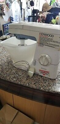 Vintage Kenwood Chef Excel Mixer KM210 With Attachments