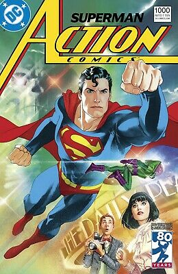 Action Comics #1000 Variant 1980'S -1St Print - Bagged And Boarded. Free Uk P+P!