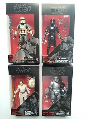 Star Wars - The Black Series 6in Death Trooper Scarif Trooper C Phasma & Rey NIB