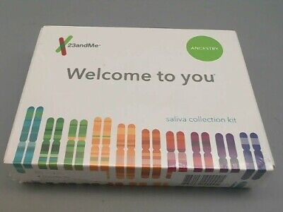 23andMe DNA Test Ancestry Personal Genetic Service Kit 01/2020