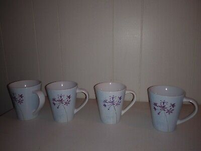 LOT Corelle Impressions -piece Dinnerware Cup/Mugs* Summer Meadow
