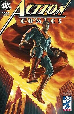 Action Comics #1000 Variant 2000'S -1St Print - Bagged And Boarded. Free Uk P+P!