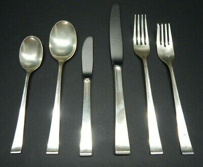 Theme 6-Piece Place Setting (sterling, 1954) by Gorham Silver