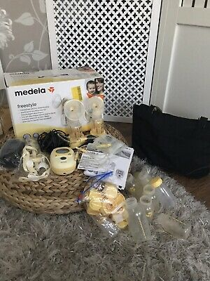 Medela Freestyle Double Electric Breastpump PLUS extras Rrp £329