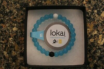 Lokai Bracelet - Find Your Balance - Mt Everest Water & Dead Sea Mud size MEDIUM