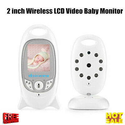 "Digital Baby Video Monitor 2.4G Wireless 2""LCD Color Screen Night Vision Lullaby"