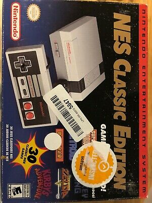 Nintendo NES Classic Edition Entertainment System mini Console - NEW -