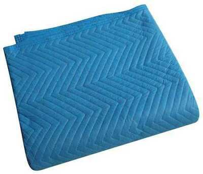 ZORO SELECT 2NKR9 Quilted Moving Pad,L72xW80In,Blue,PK12