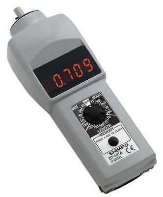 SHIMPO DT-107A Tachometer,0.10 to 25,000 rpm