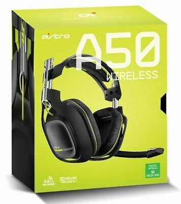 ASTRO A50 Wireless Gaming Headset for XBOX ONE & PC. Box & ALL Accessories !!