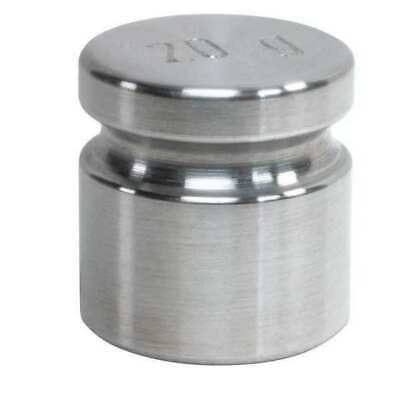RICE LAKE WEIGHING SYSTEMS 12523TR Calibration Weight,SS,20g,Cylinder
