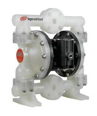 ARO PD10P-YPS-PTT Double Diaphragm Pump, Polypropylene, Air Operated, PTFE, 53