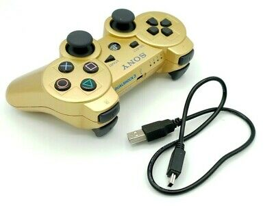 Sony DualShock 3 | Controller GOLD | PlayStation 3 | Wireless | PS3